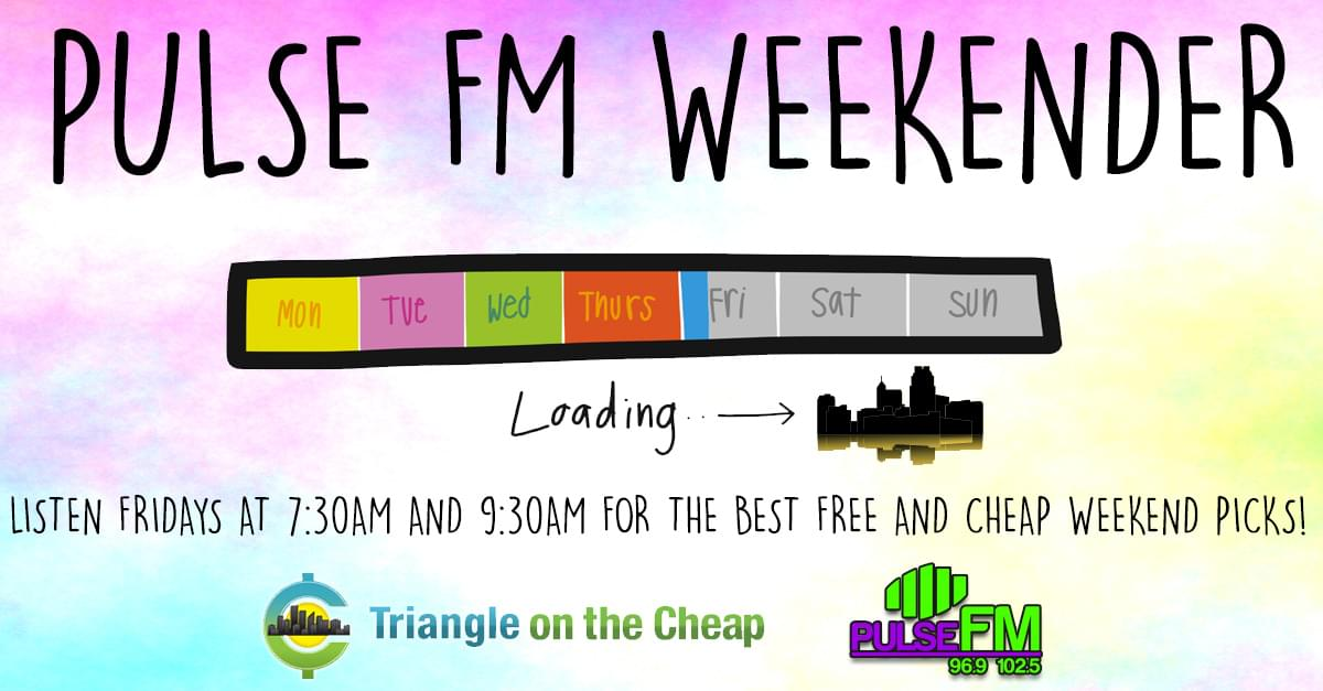 Pulse FM Weekender: August 10th – August 12th