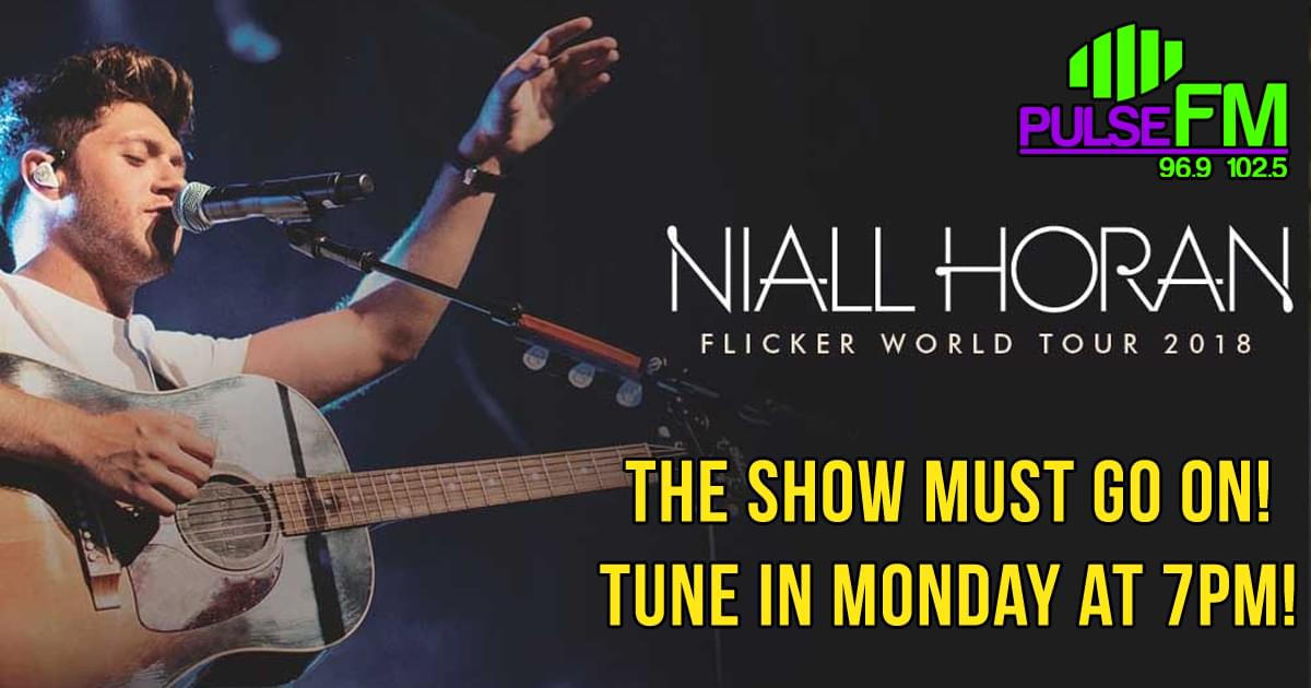 Niall Horan – The Show Must Go On!
