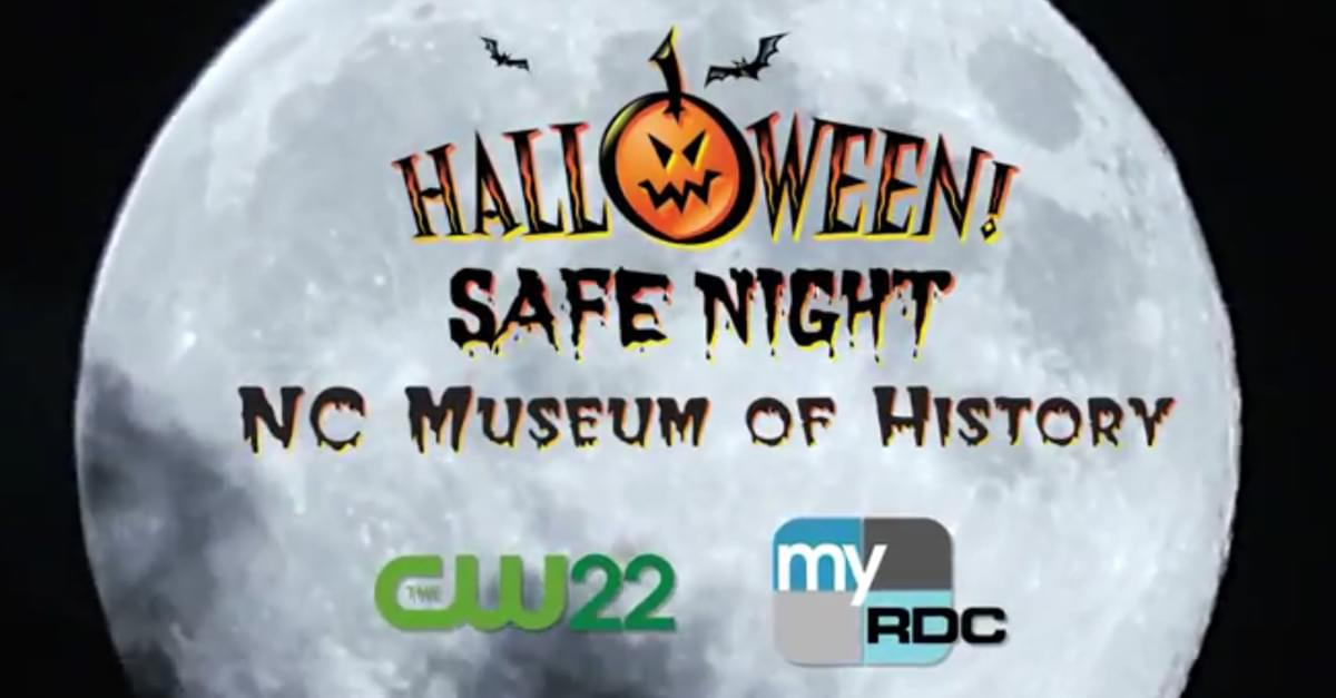 Join us at the Cw22's Halloween Safe Night