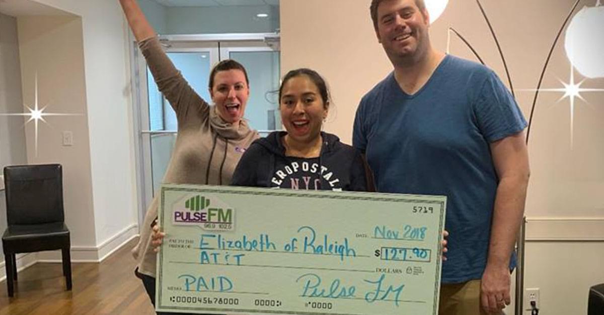 Pulse FM Pays Your Bills Winners!