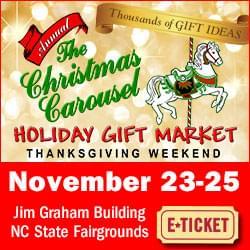 Christmas Carousel Holiday Market