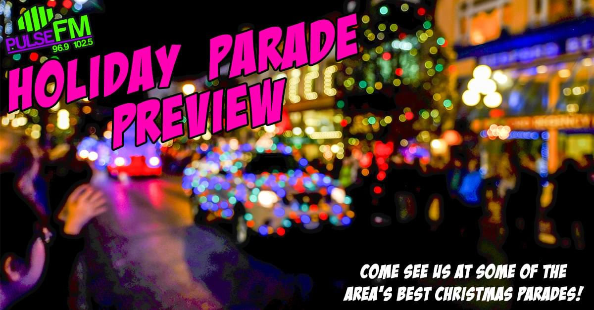 Pulse FM's Holiday Parade Preview