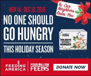 Holiday Without Hunger