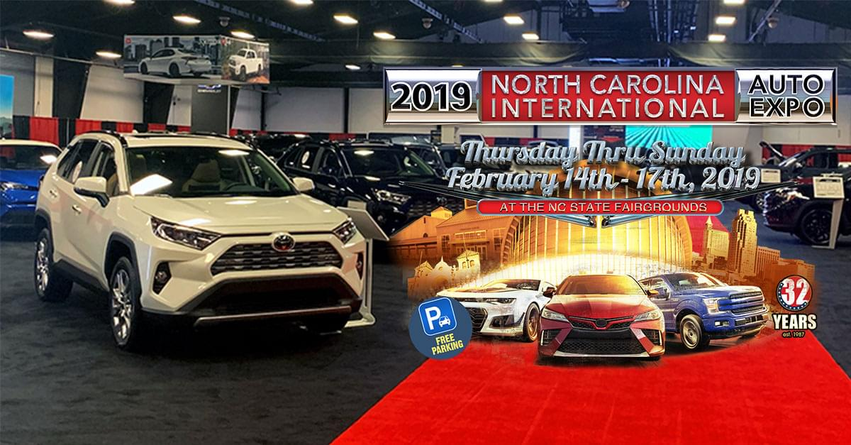 PICS: 2019 NC International Auto Expo