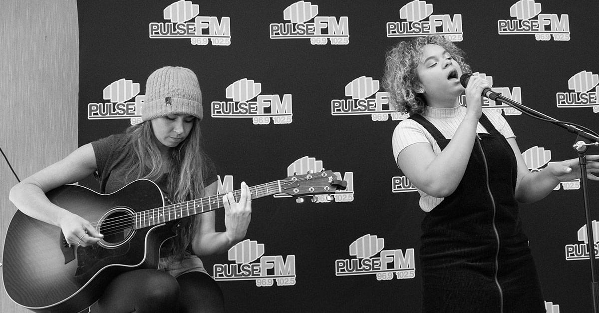 Pics: Pulse FM Live Lounge with Rachel Crow