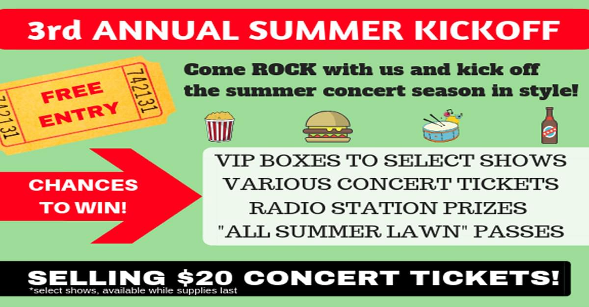 Livenation Releases List of $20 Shows Available at Summer Kickoff Celebration
