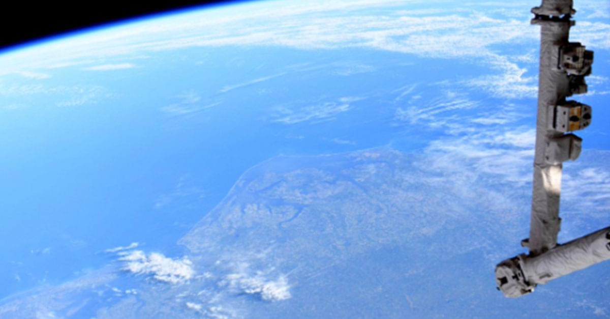 Astronaut & NC Native Christina Koch tweets picture of Outer Banks from Space