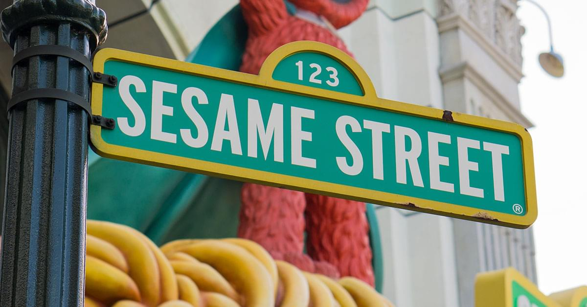 Sesame Street becomes real intersection in NYC