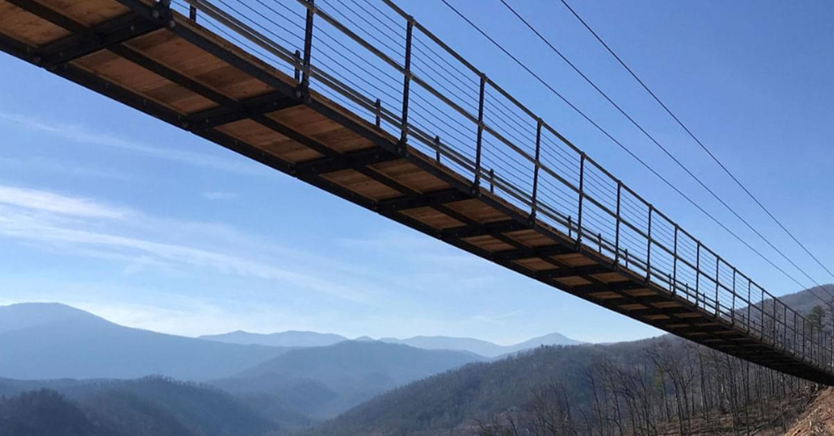 Longest suspension bridge in North America to open Tennessee