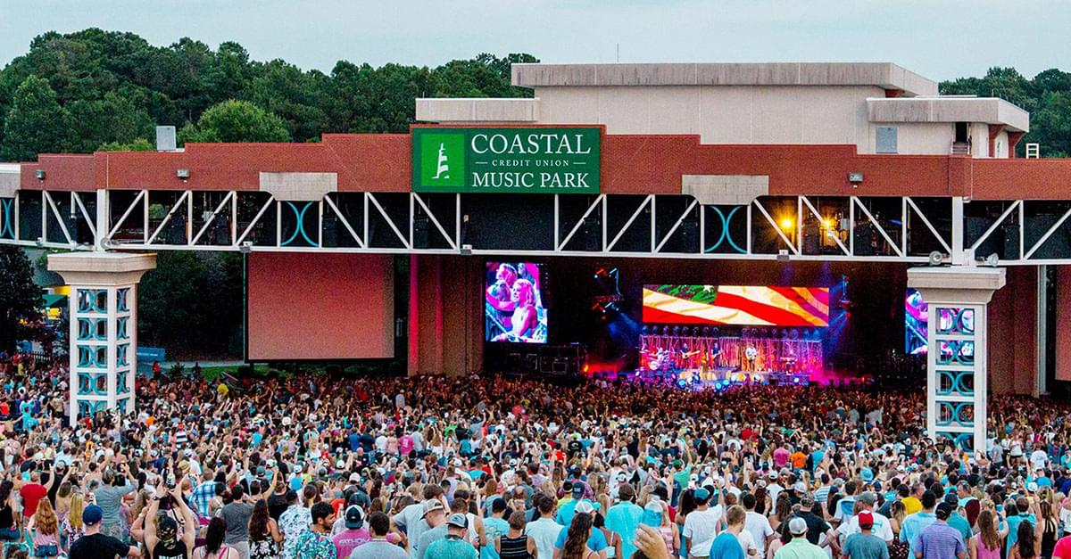 Coastal Credit Union Music Park announces Concert Season Charity Drive 2019