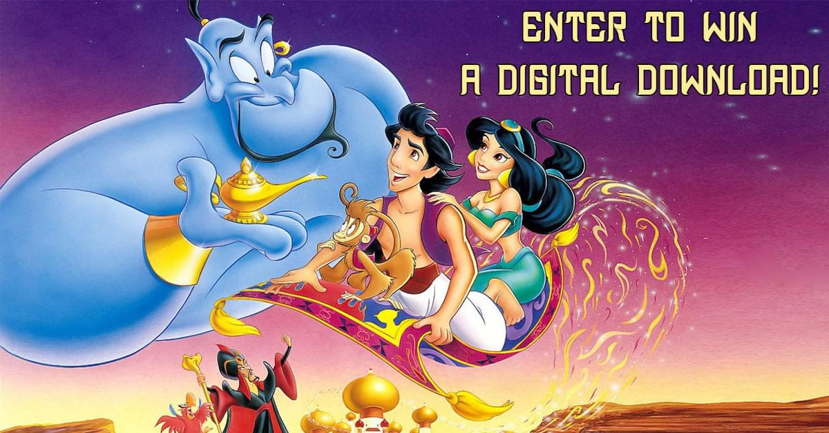 Enter to Win: Aladdin