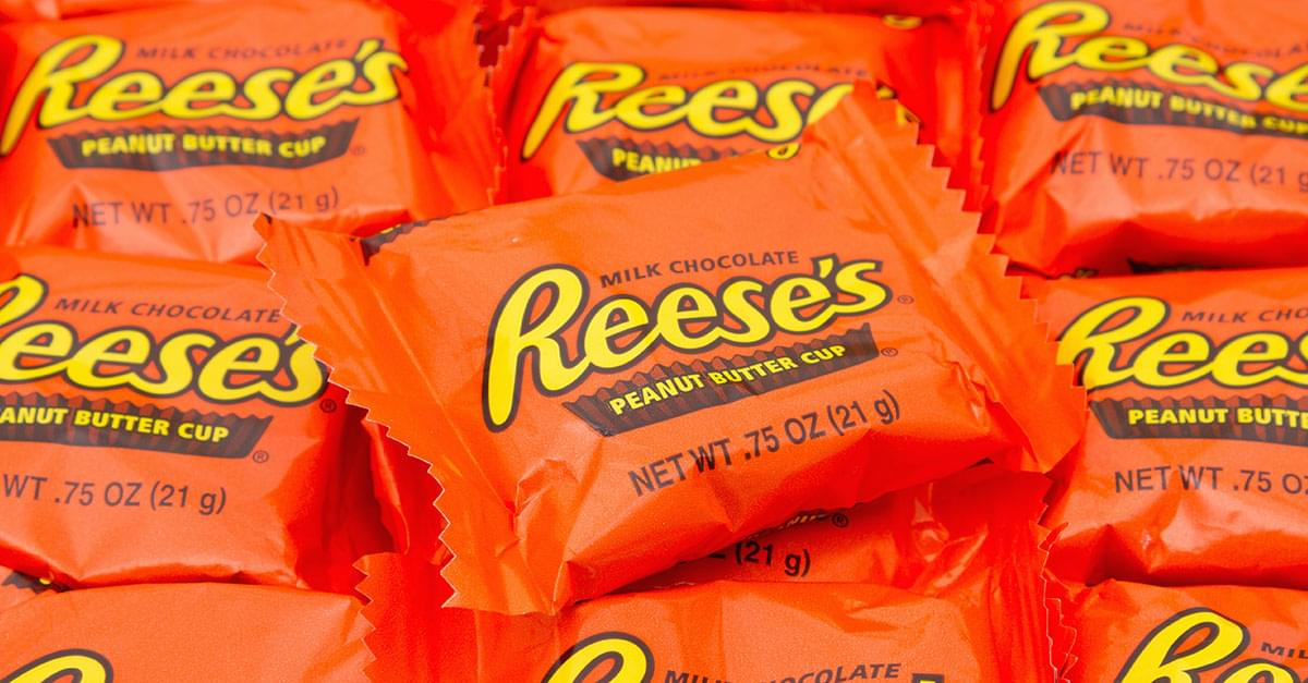 New Poll Finds Reese's Peanut Butter Cups are America's favorite Halloween candy