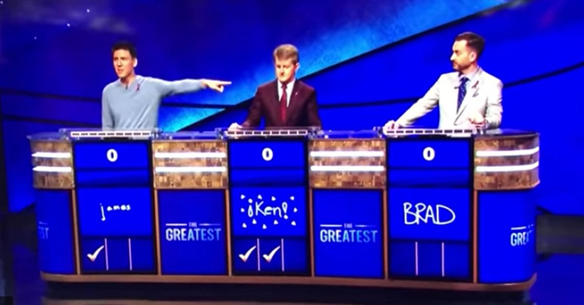 Burn! 'Jeopardy!' Contestant Roasts Competitor