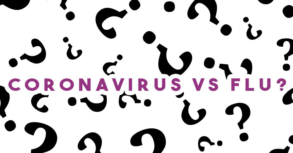 Coronavirus VS. Influenza