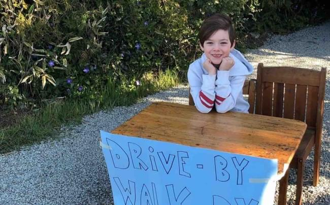 6 Year Old Opens Drive-By Joke Stand