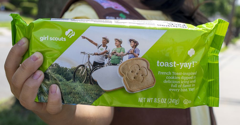 French Toast Girl Scout cookies? Yes please!