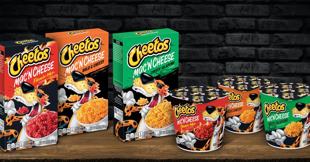 Cheetos flavored Mac & Cheese?