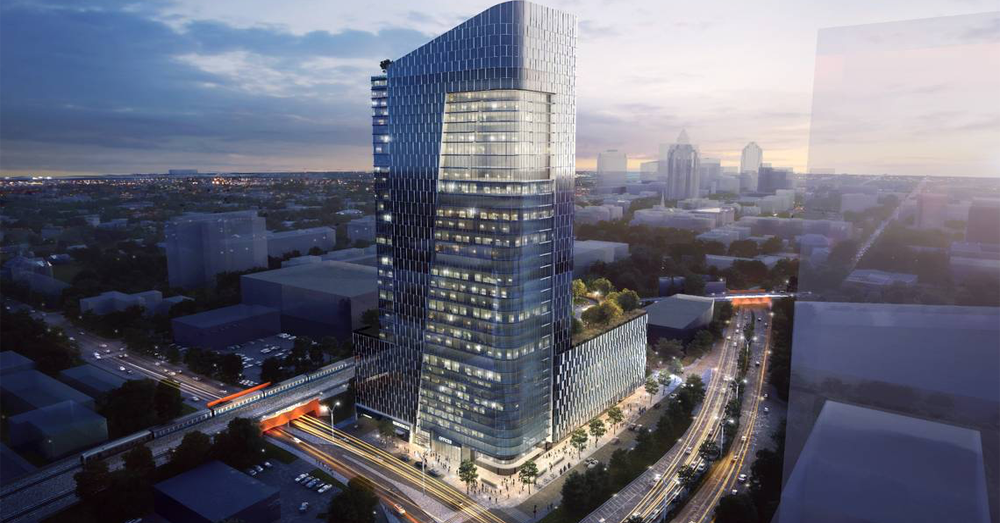 A 40-Story Tower Planned For Raleigh