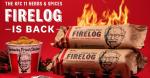 Fried chicken scented firelogs?