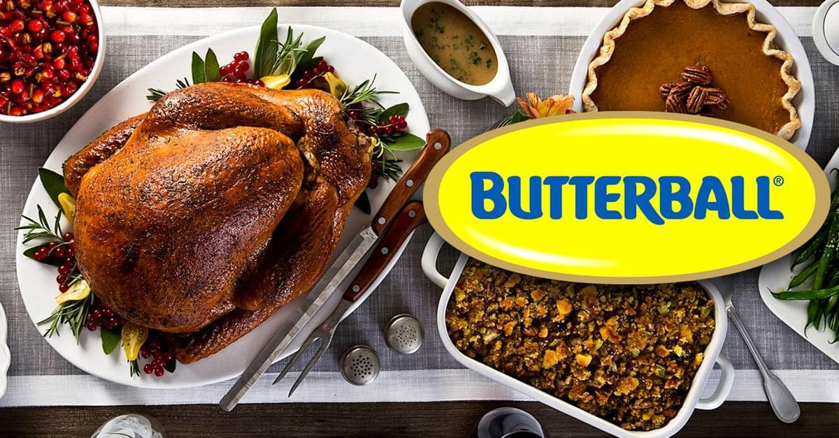 Jud talks Turkey Thursday with Butterball Turkey!