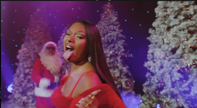 Megan Thee Stallion Creates New Holiday Classic