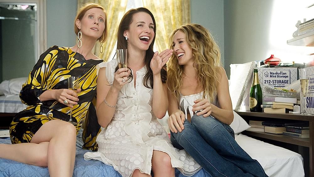 SEX AND THE CITY: THE MOVIE, Cynthia Nixon, Kristin Davis, Sarah Jessica Parker, 2008. ©New Line Cin