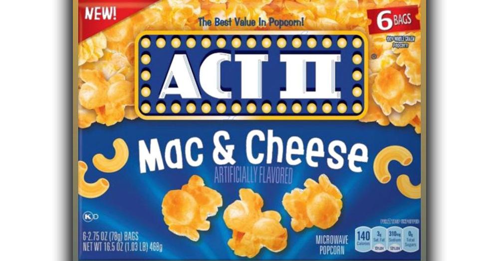 Mac and Cheese Popcorn?