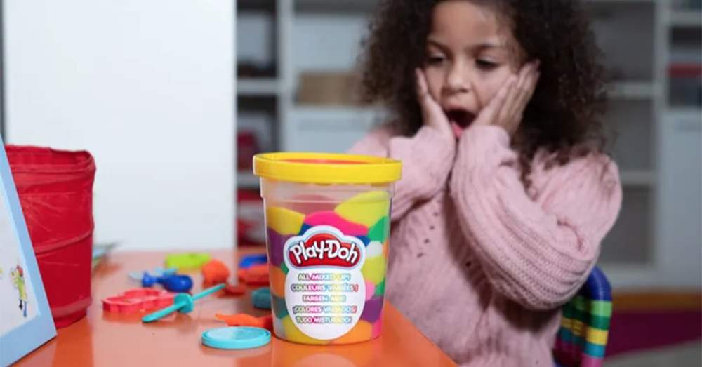 Play-Doh's New 'All Mixed Up' Clay Tests Patience of Moms Everywhere!