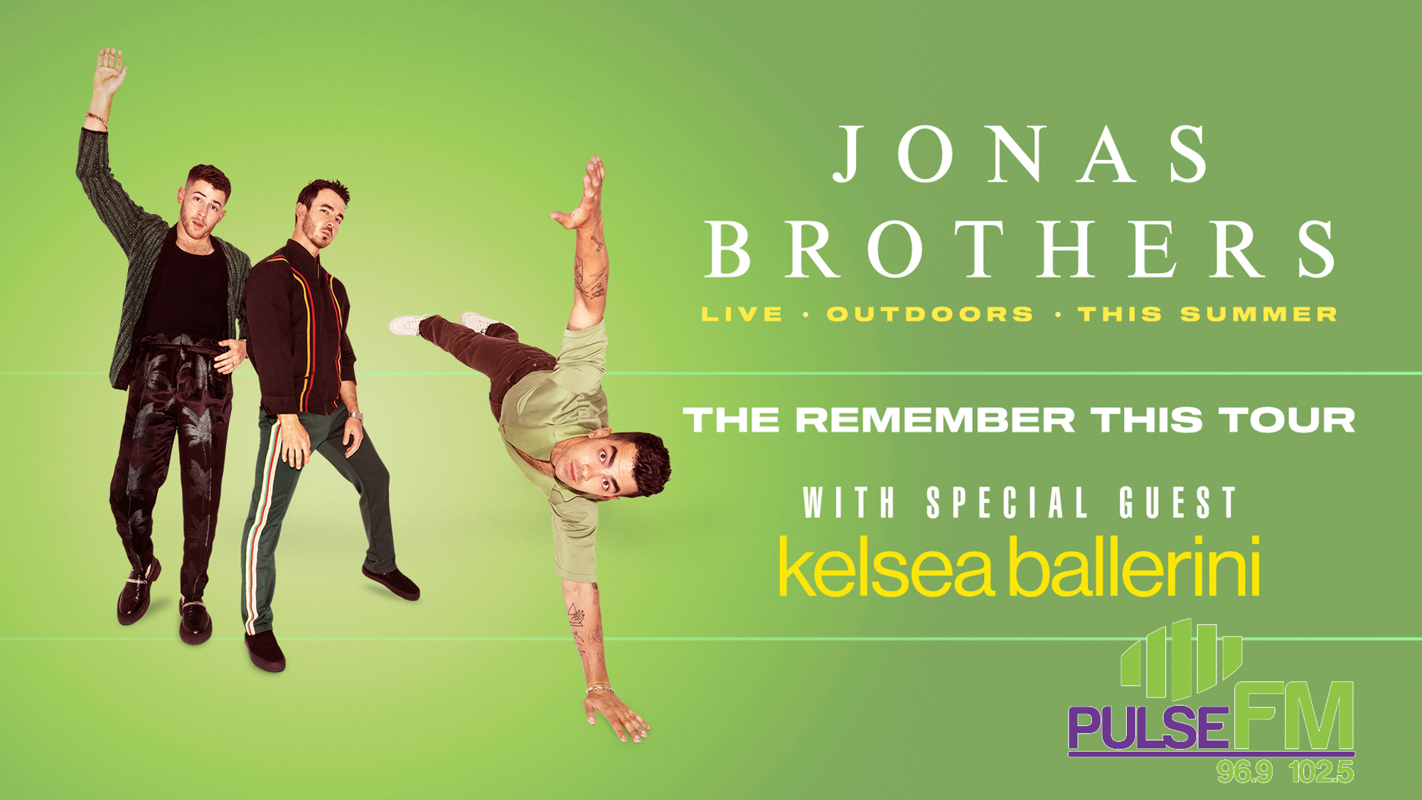 Enter to Win Jonas Brothers Tickets