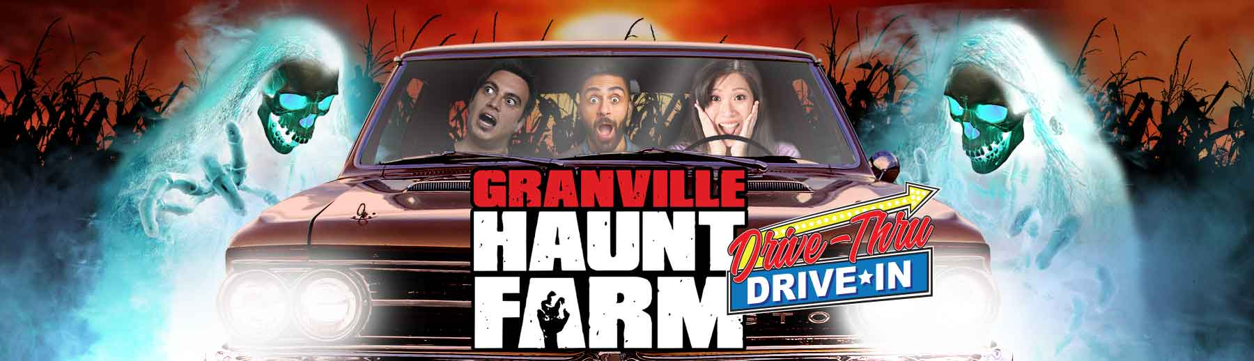 Scream Your Way In: Granville Haunt Farm