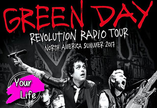 Green Day Tickets PLUS Deck Party Passes