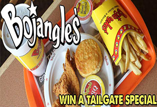 Win a Tailgate Special from Bojangles'