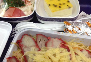 Should you eat airplane food?