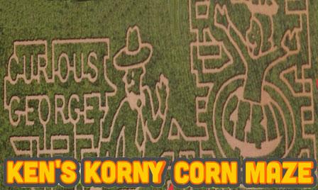 Kens Korny Korn Maze 2017