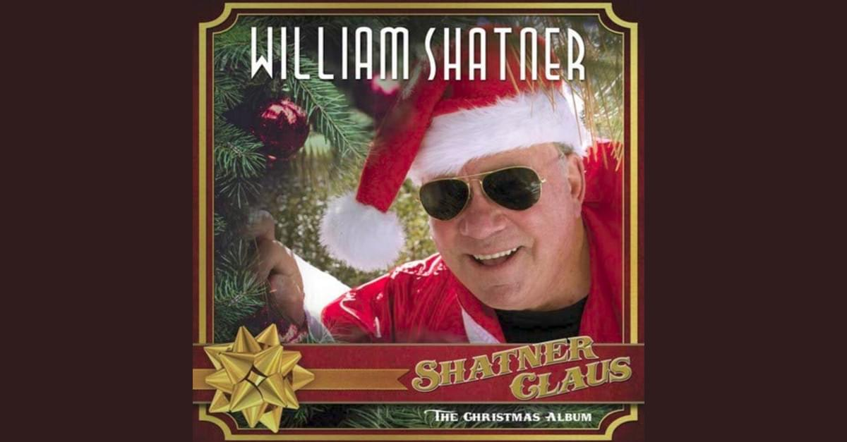 Here comes Shatner Claus