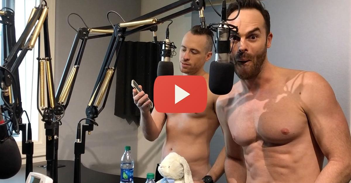 Watch: Kitty Interviews The Naked Magicians