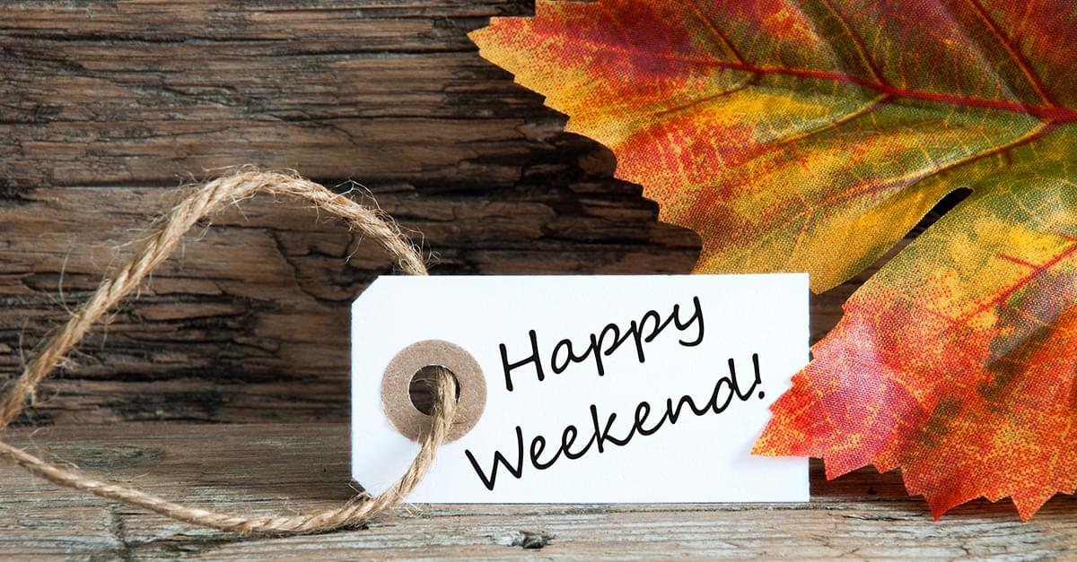 Weekend Rundown: October 12th – October 14th