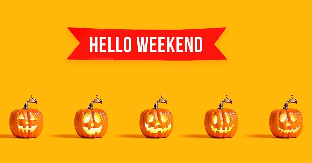 Weekend Rundown: October 26th – 28th