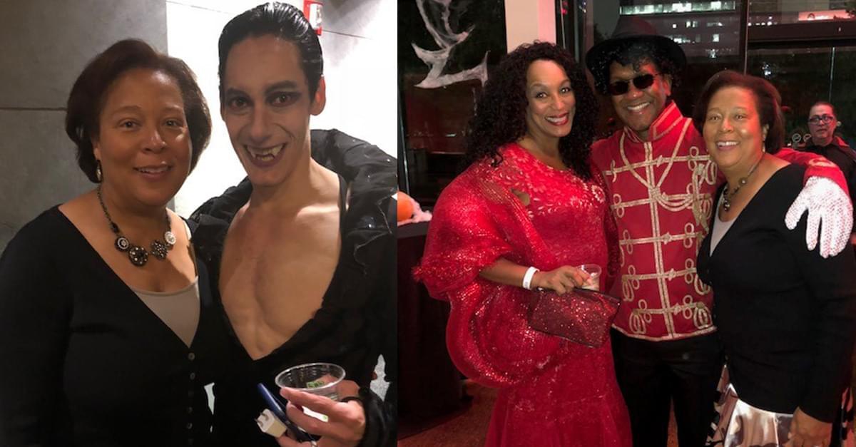 PICS: Madison at the Carolina Ballet Dracula Costume Contest