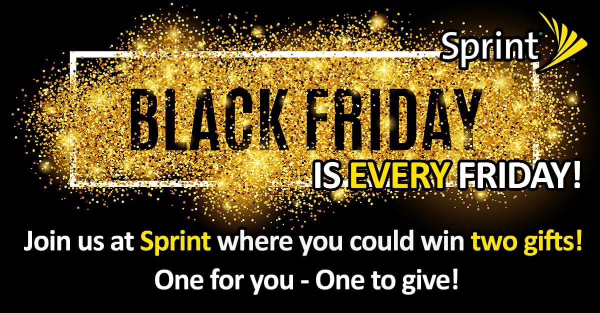 Sprint black Friday