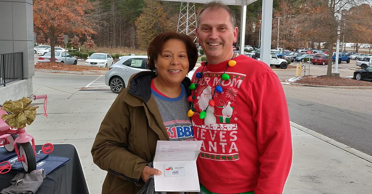 Pics: BBB at Leith Toyota for Wrapping Hopes and Dreams