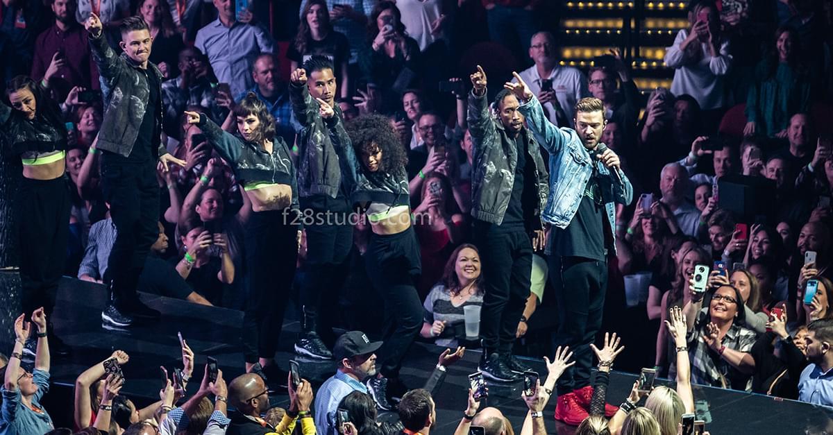 Pics: Justin Timberlake in Raleigh