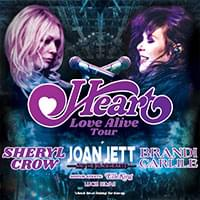 Heart with Joan Jett & the Blackhearts and Elle King