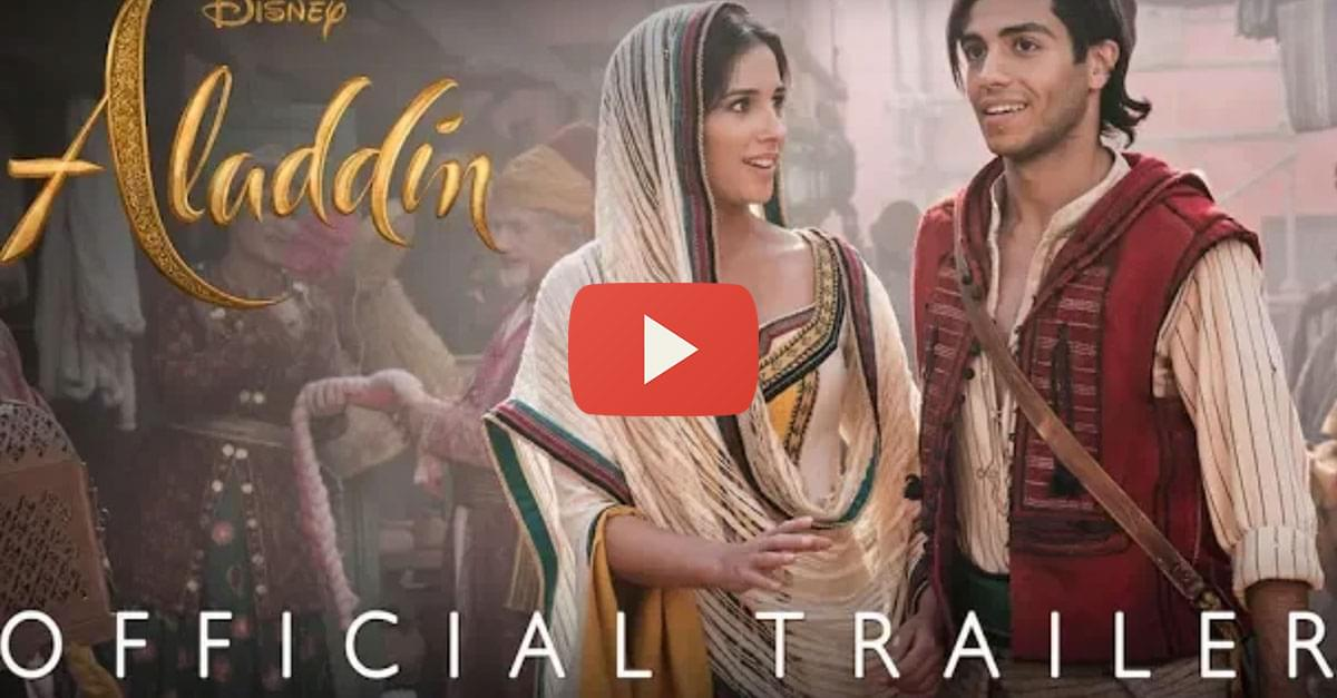 Watch: Official 'Aladdin' Trailer Released