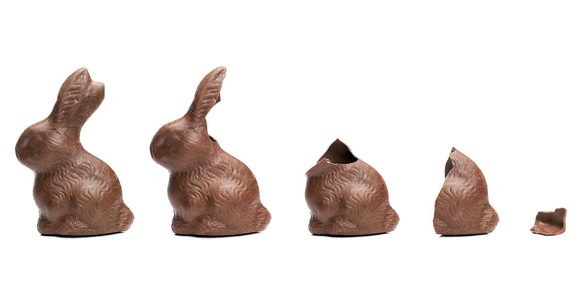Survey Shows Americans Prefer to Eat Chocolate Easter Bunny Ears First