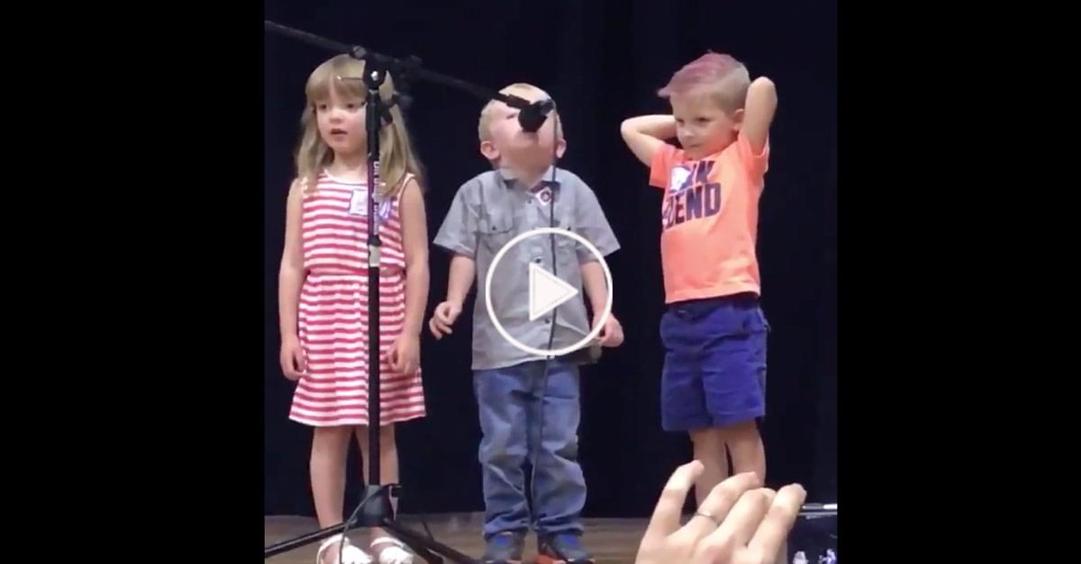 Watch: Kid Changes Performance Song To The 'Star Wars' 'Imperial March'