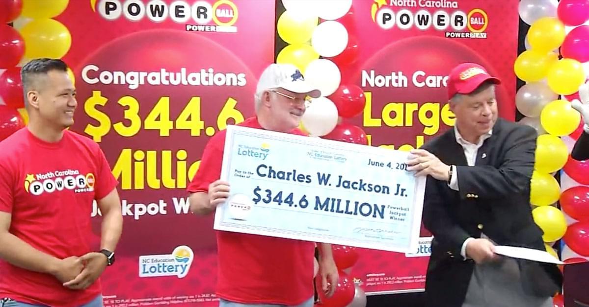 NC Man Wins $344 million Powerball!