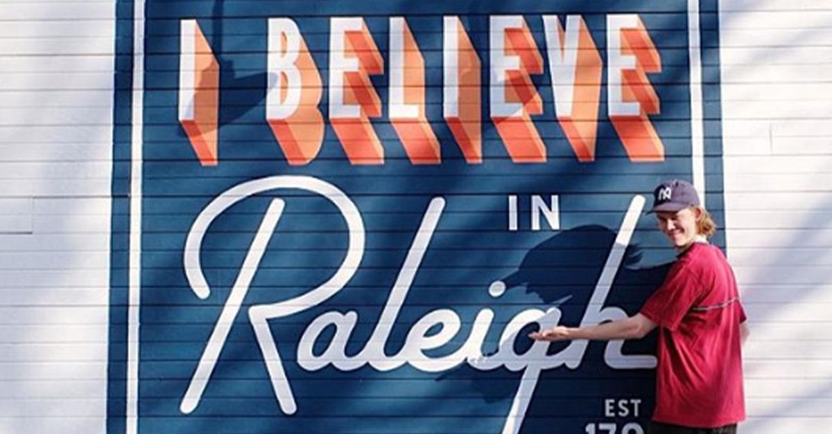 Must-See Outdoor Murals in Raleigh
