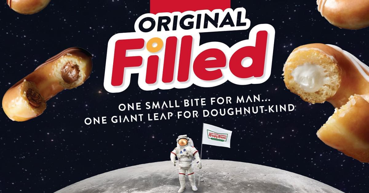 Krispy Kreme Announces Original Filled Doughnuts