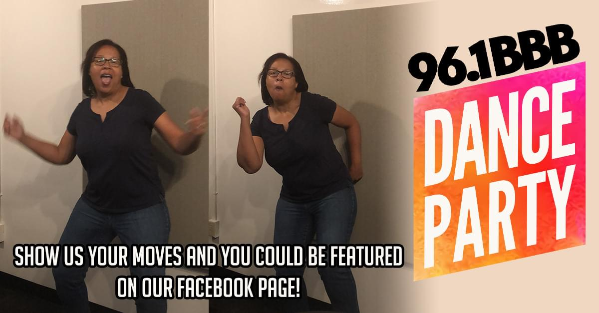 96.1 BBB Friday Morning Dance Party